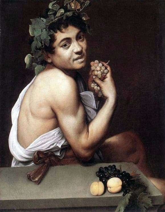 Description of the painting by Michelangelo Merisi da Caravaggio Sick Bacchus