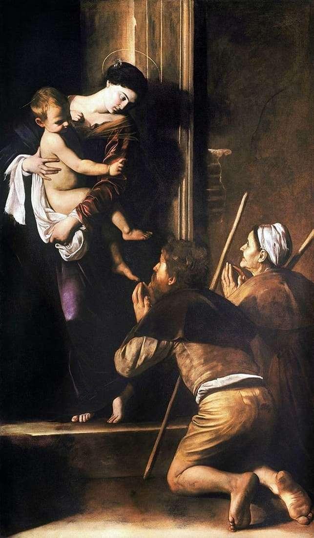 Description of the painting by Merisi da Caravaggio Madonna di Loreto (1604 1606)