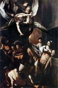 Description of the painting by Caravaggio Seven acts of mercy