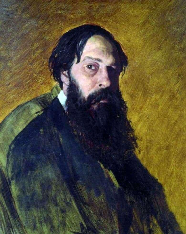Description of the painting by Vasily Perov Portrait of Alexei Savrasov