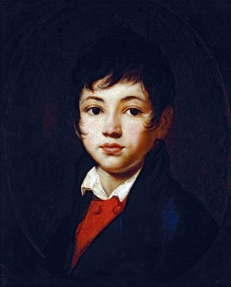 Description of the painting by Orest Kiprensky Portrait of Chelishchev