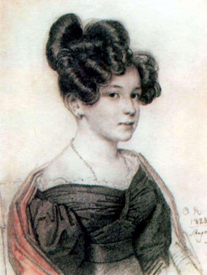 Description of the painting by Orest Kiprensky Portrait of Venison