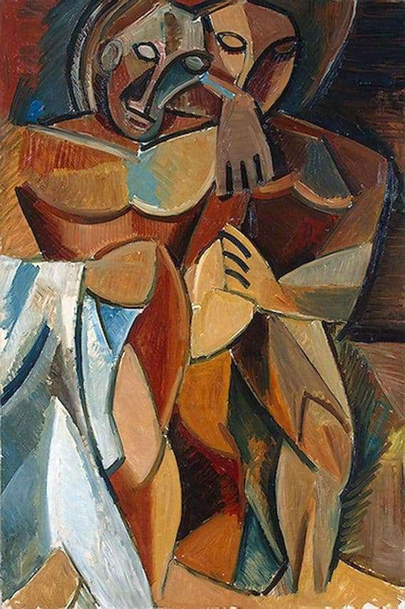 Description of the painting by Pablo Picasso Friendship