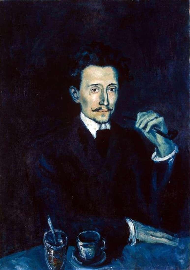 Description of the painting by Pablo Picasso Portrait of Soler