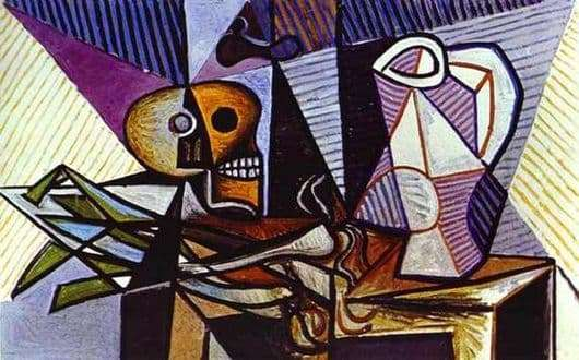 Description of the painting by Pablo Picasso Still Life