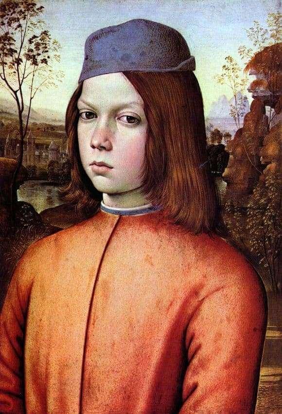 Description of the painting by Pinturicchio Portrait of a Boy