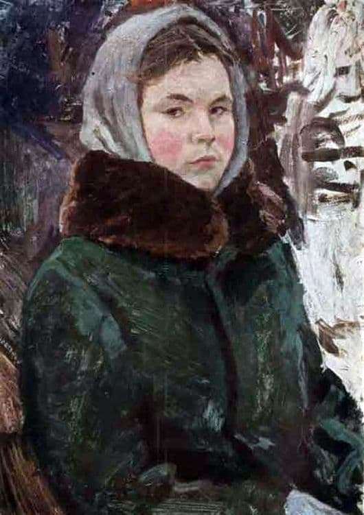 Description of the painting by Arkady Plastov Tanya