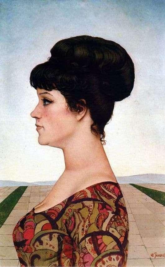 Description of the painting by Yuri Raksha My Irina