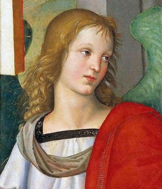 Description of the painting by Raphael Santi Angel
