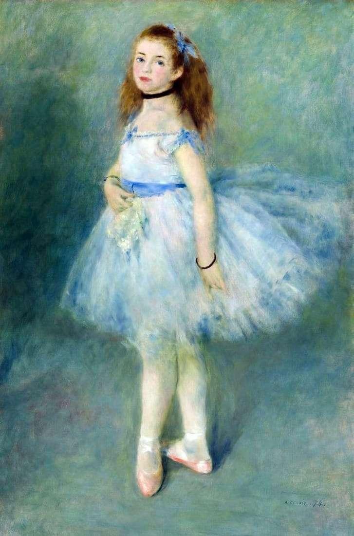 Description of the painting by Pierre Auguste Renoir The Dancer
