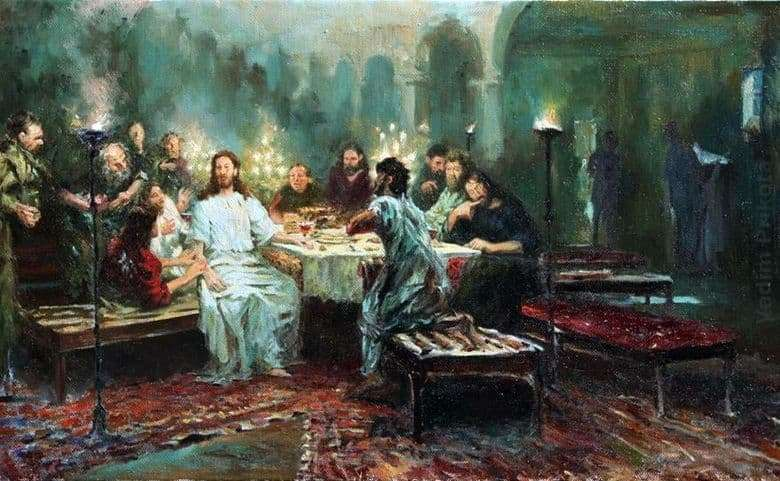Description of the painting by Ilya Repin The Last Supper