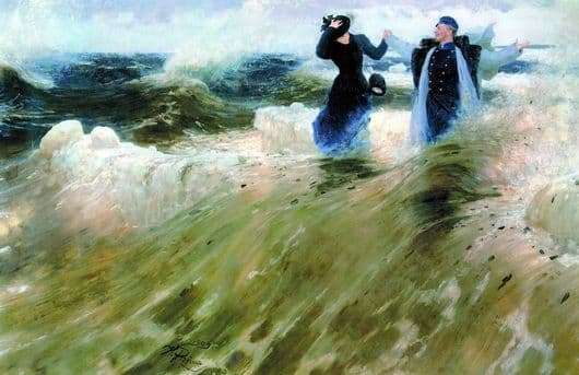 Description of the painting by Ilya Repin What a space!