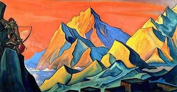Description of the painting by Nicholas Roerich News of Shambhala