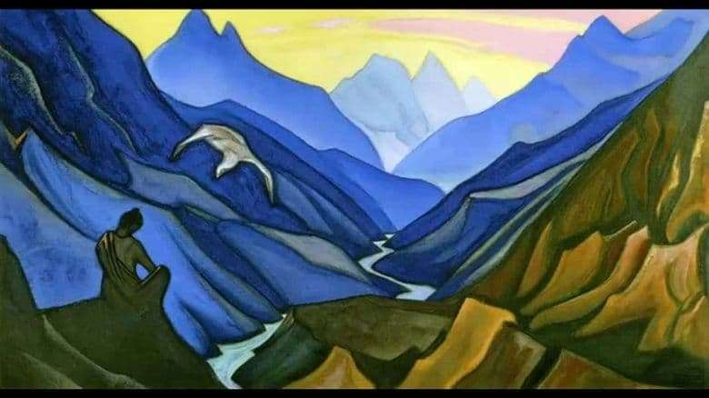 Description of the painting by Nicholas Roerich Teachers Order
