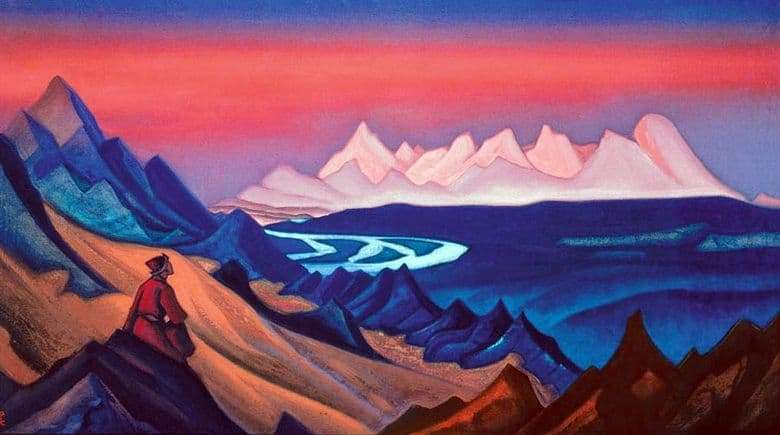 Description of the painting by Nicholas Roerich Song of Shambhala