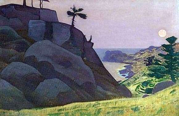 Description of the painting by Nicholas Roerich Fairy Tale