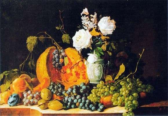 Description of the painting by Ivan Kozlovsky Still Life