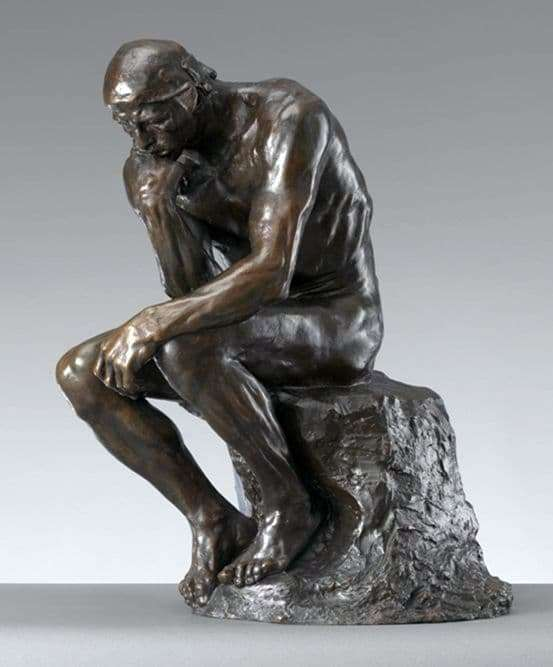 Description of the sculpture by Francois Auguste Rodin The Thinker
