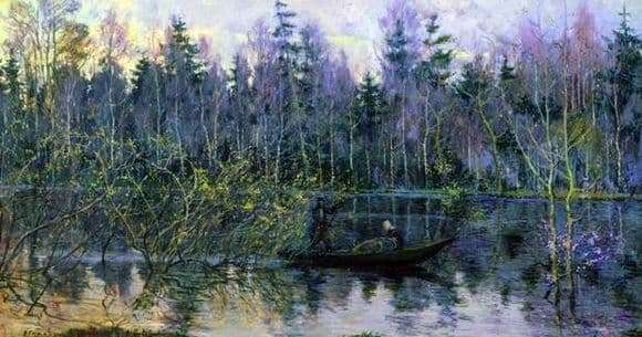 Description of the painting by Nicholas Romadin Kerzhenets