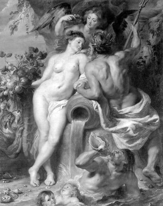 Description of the painting by Peter Rubens Union of Land and Water
