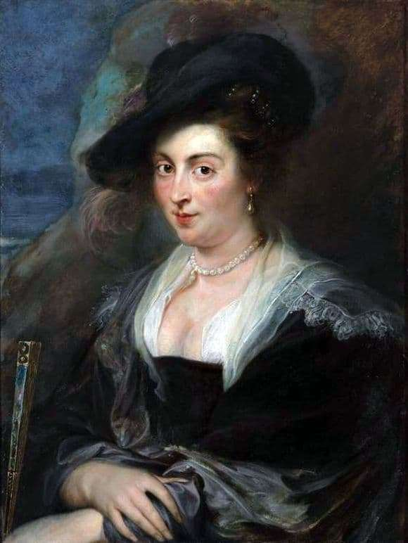 Description of the painting by Peter Rubens Womans Portrait