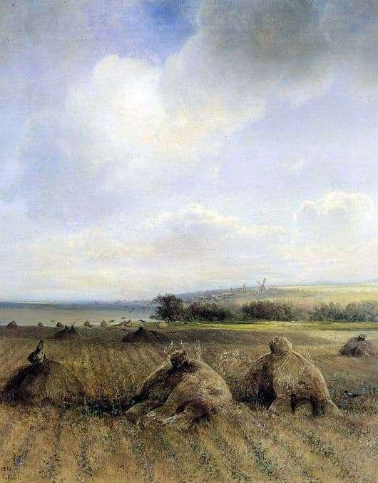 Description of the painting by Alexei Savrasov By the end of the summer, on the Volga