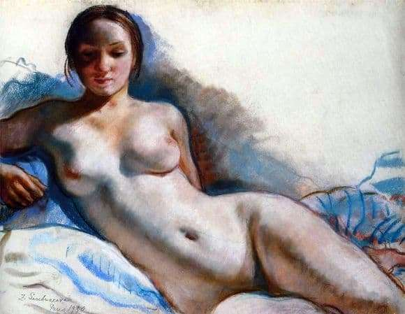 Description picture Zinaida Serebryakova Nude