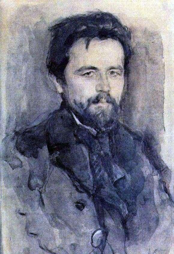 Description of the painting by Valentin Serov Portrait of A. P. Chekhov