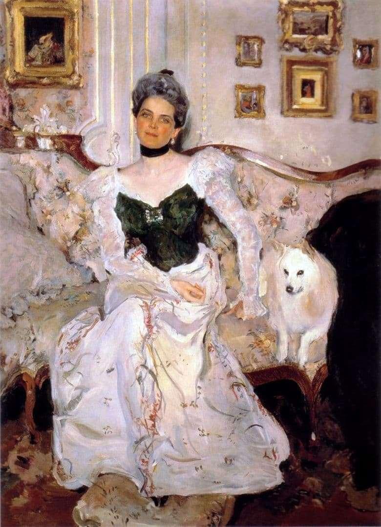 Description of the painting by Valentin Serov Portrait of Princess Z. N. Yusupova