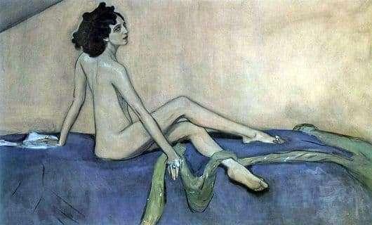 Description of the painting by Valentin Serov Portrait of Ida Rubinstein
