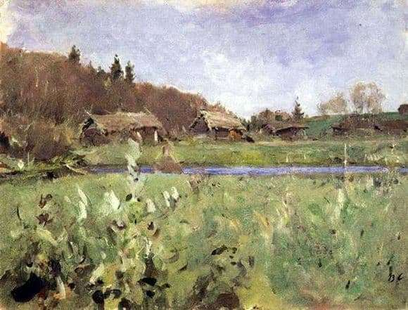Description of the painting by Valentin Serov Landscape