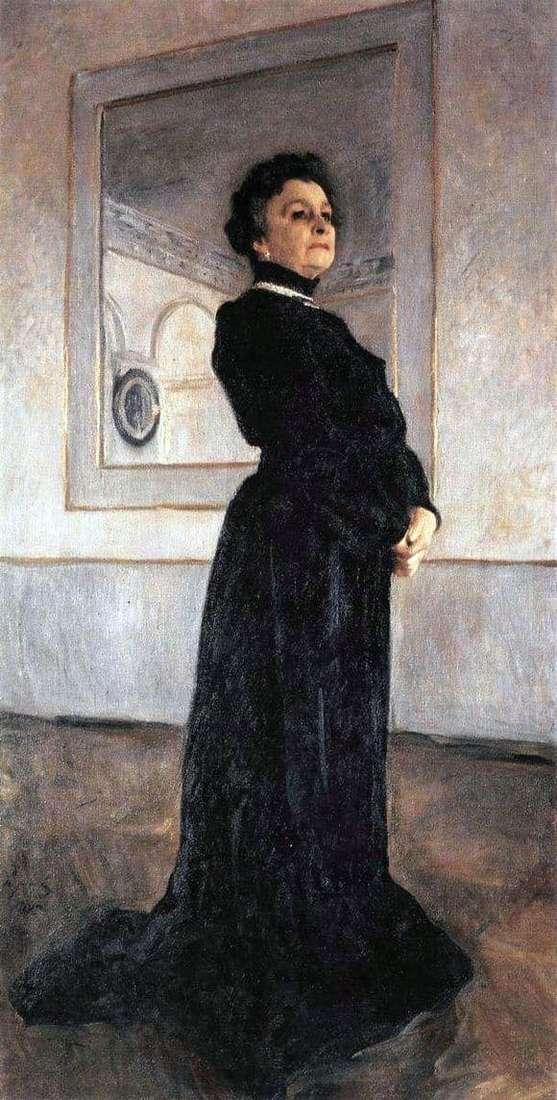 Description of the painting by Valentin Serov Portrait of Yermolova