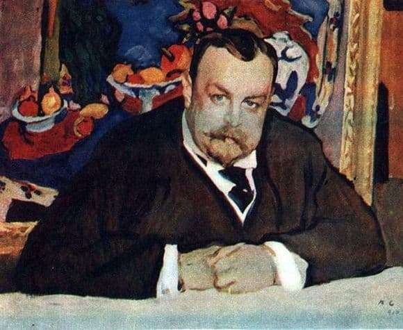 Description of the painting by Valentin Serov Portrait of I. A. Morozov