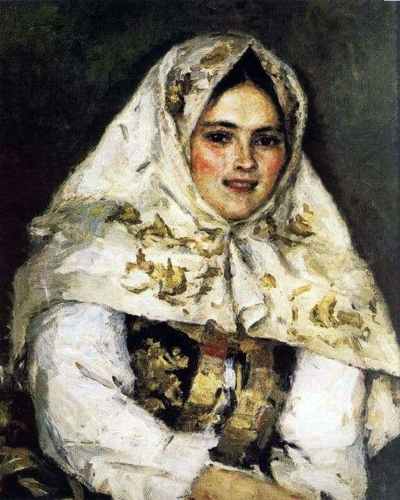 Description of the painting by Vasily Ivanovich Surikov Siberian Beauty (1891)