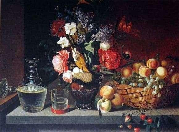 Description of the painting by Ivan Khrutsky Still Life