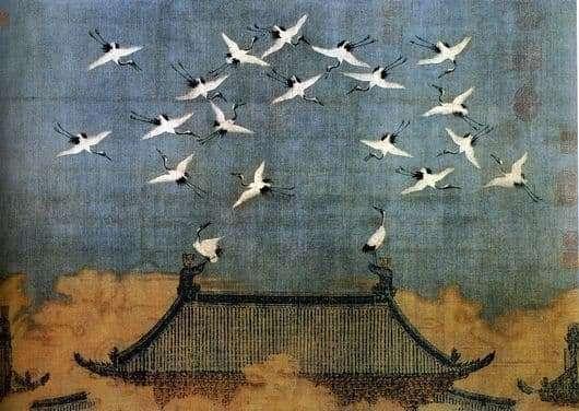 Picture description Zhao Ji Cranes