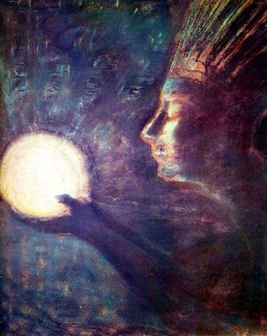 Description of the painting by Mikalojus Čiurlionis Friendship