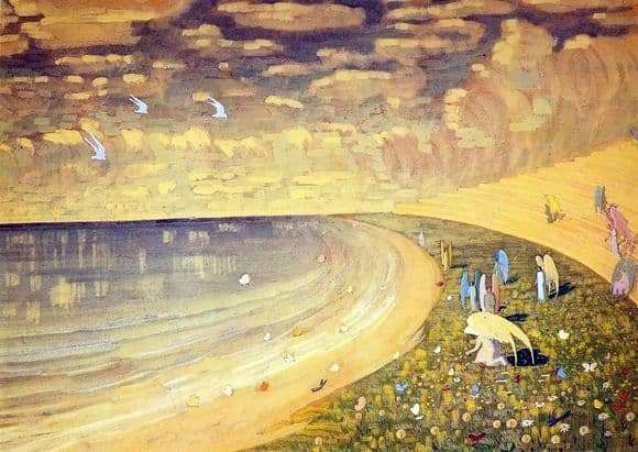 Description of the painting by Mikalojus Čiurlionis Paradise