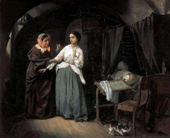 Description of the painting by Nicholas Schilder The Temptation