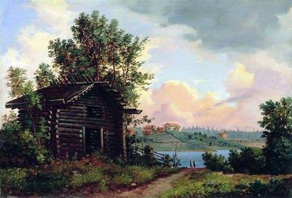 Description of the painting by Ivan Shishkin Landscape