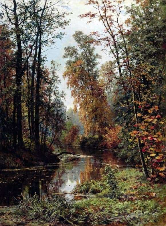 Description of the painting by Ivan Shishkin Autumn Landscape