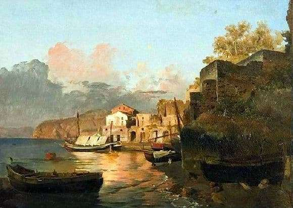 Description of the painting by Sylvestre Shchedrin In Sorrento