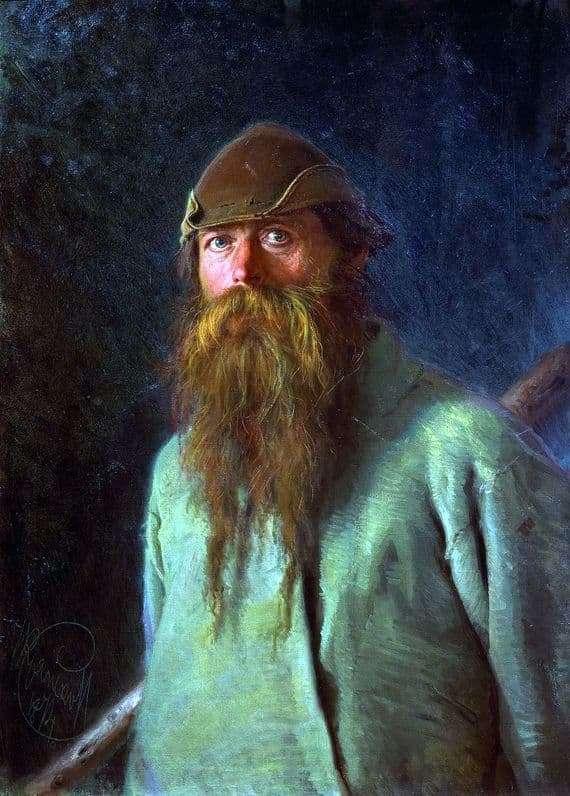 Description of the painting by Ivan Kramsky Polesman