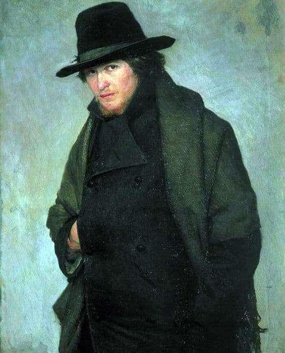 Description of the painting by Nikolai Yaroshenko Student