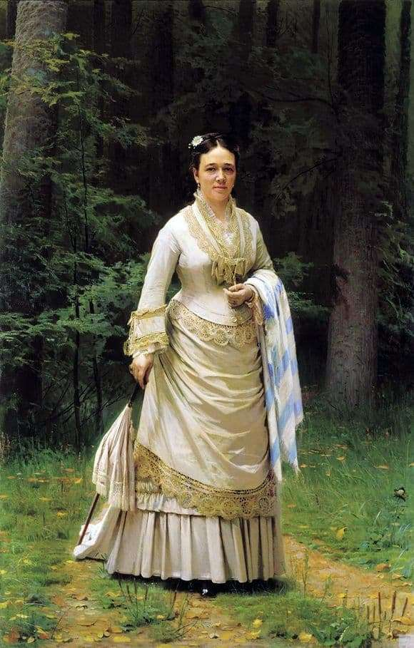 Description of the painting by Ivan Kramskoy Portrait of Tretyakov