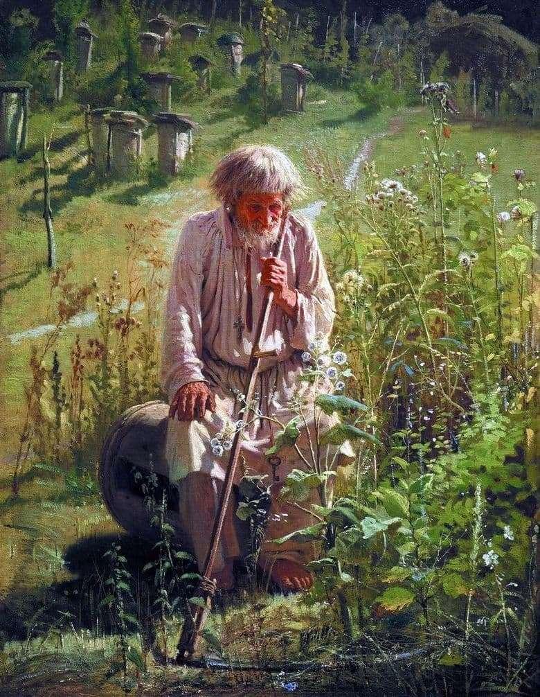 Description of the painting by Ivan Kramsky Pasechnik