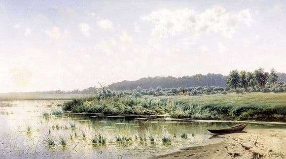 Description of the painting by Konstantin Kryzhitsky Before Noon