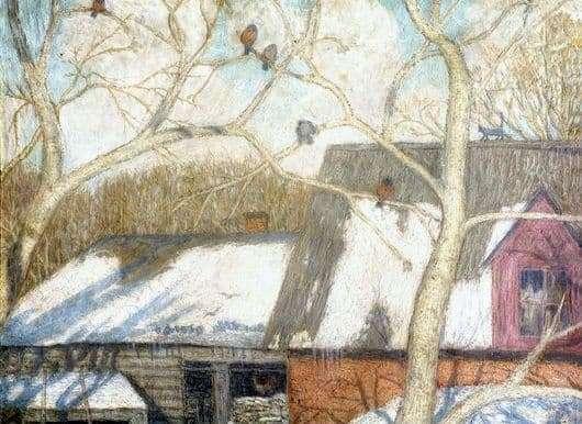 Description of the painting by Nikolai Krymov To spring