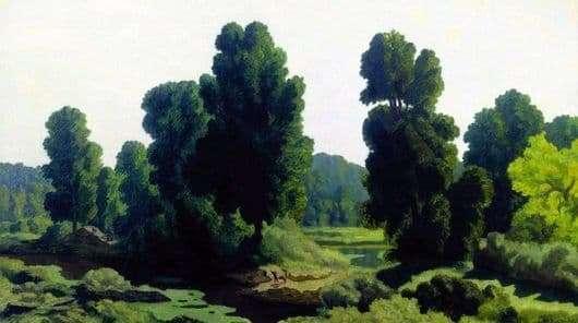Description of the painting by Nikolai Krymov Morning