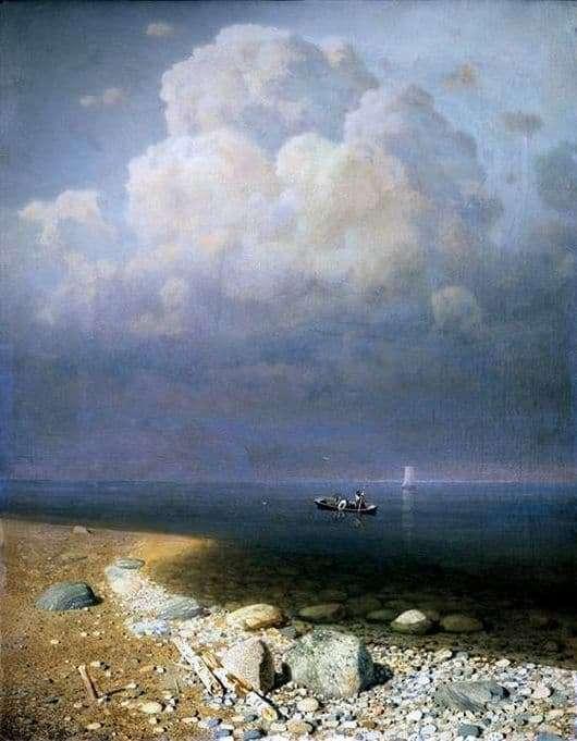 Description of the painting by Arkhip Kuindzhi Lake Ladoga